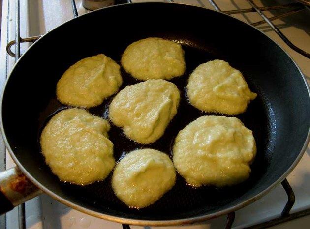 пошаговый рецепт оладьев кабачков фото