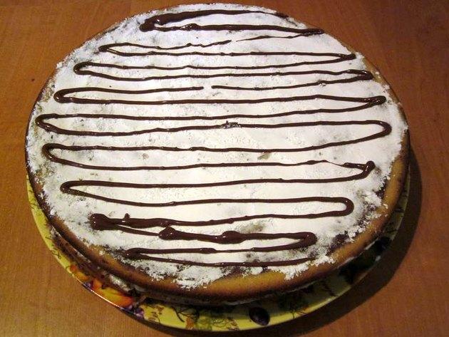 Торт зебра коржами рецепт